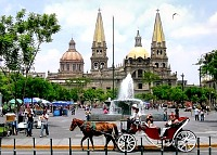 Guadalajara horse drawn carriage